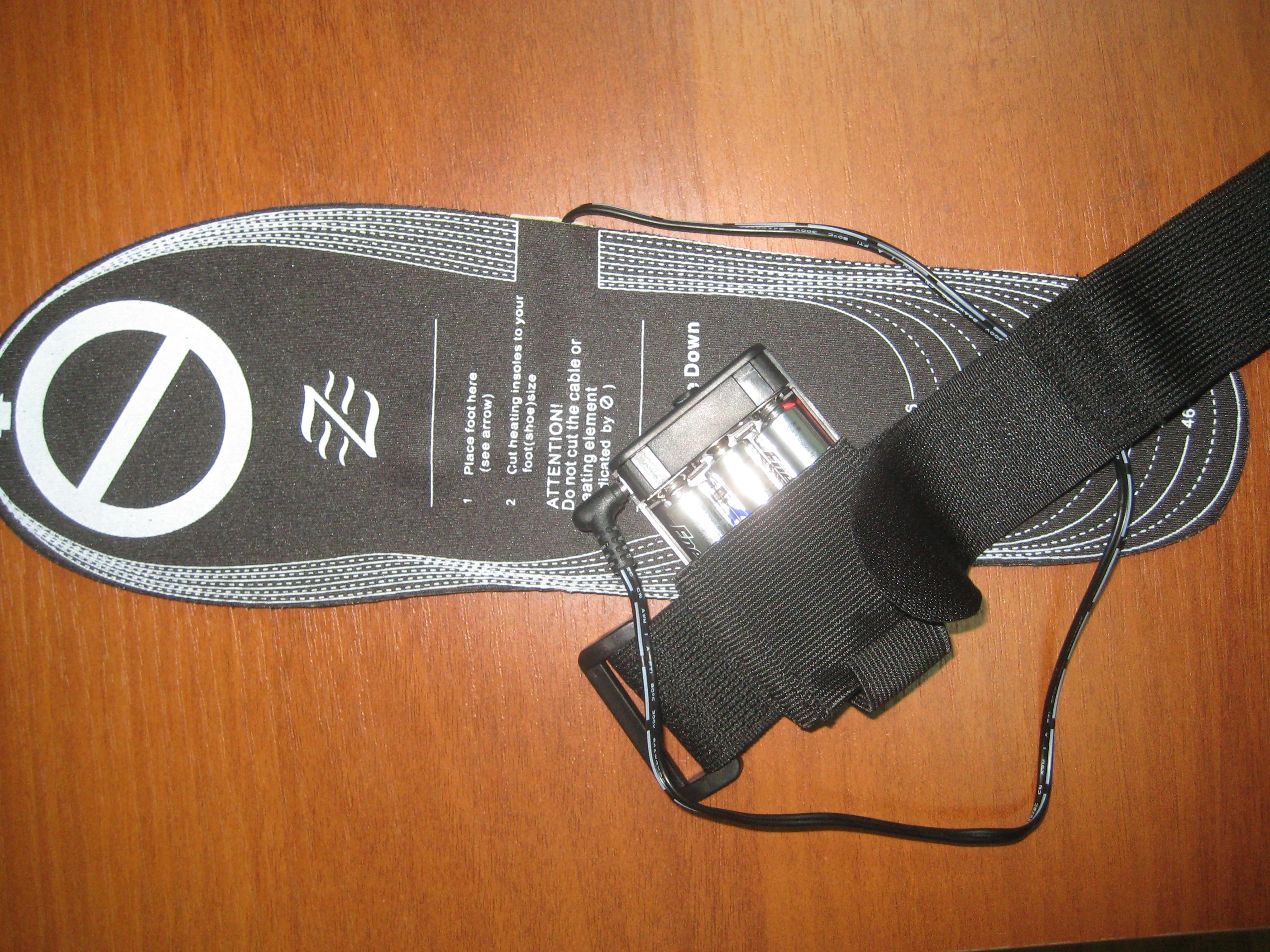 Как сделать обувь с подогревом своими руками 70